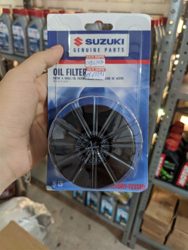 Filtro De Óleo Suzuki Alta Cilindrada