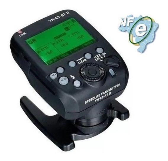 Rádio Flash Transmissor Yn E3 Rt Il Para Canon