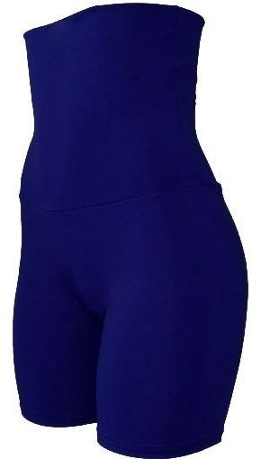 Bermuda Feminina Fitness Cós Super Alto 20 Cm Meia Coxa