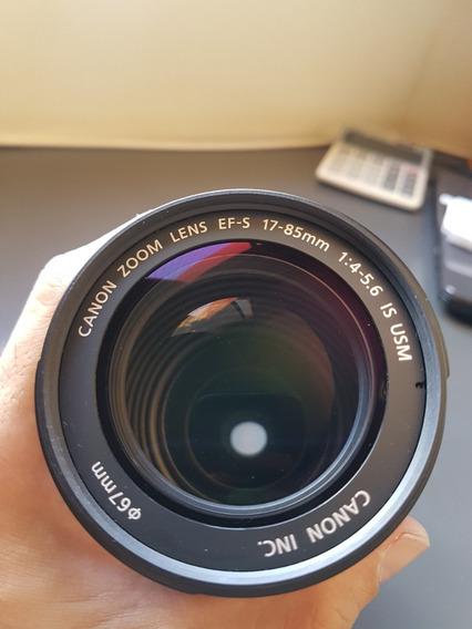 Lente Zoom Canon 17-85 Mm Image Stabilizer - Linda!