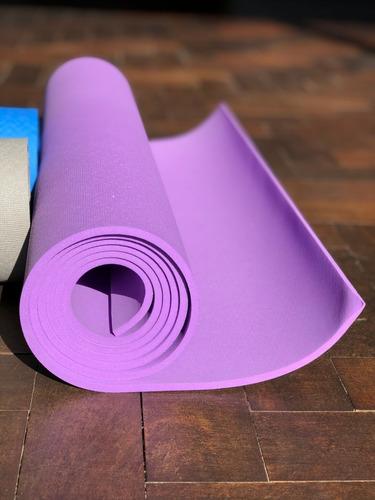 Tapete De Yoga Lilás 5mm X 1,70 X 0,6 (yogamat)