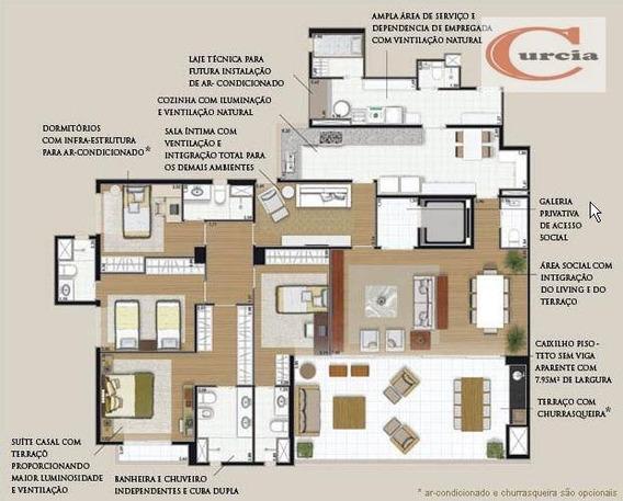 Apartamento Residencial À Venda, Campo Belo, São Paulo - Ap3708. - Ap3708