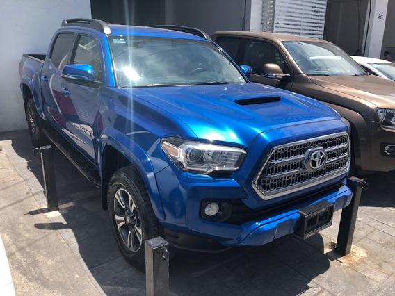 Toyota Tacoma 4x2 3.5 Trd Sport 4x2 At 2016 Azul Tela