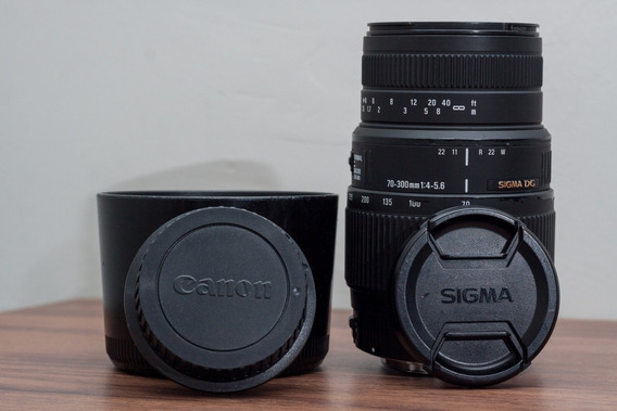 Lente Sigma 70-300mm F4-5.6 Dg Macro Canon