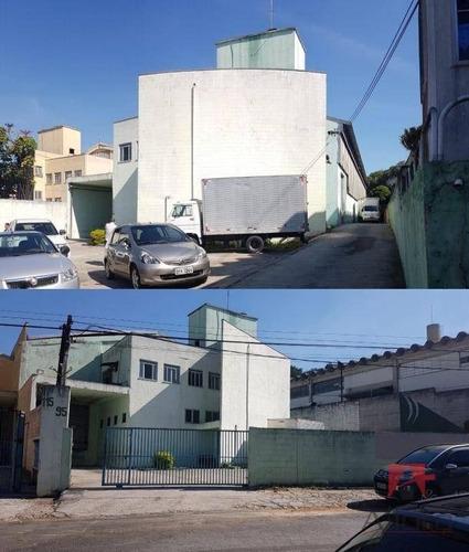 Galpão À Venda, 1101 M² Por R$ 3.450.000 - Núcleo Micro Industrial Presidente Wilson - Jandira/sp - Ga0090