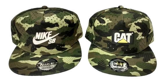 Gorras Camufladas Militar Nike, Cat, (13$)