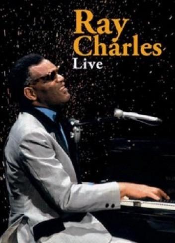 Dvd - Ray Charles - Live 10 Temas Original - Envios X Oca.-