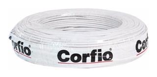 Cabo Flexivel Corfio 6,0mm 750v Branco - Peça Com 100m