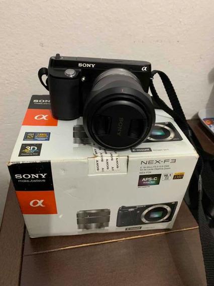 Câmera Sony Apha Nex-f3