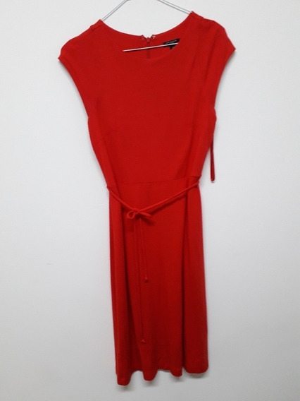 Ann Tylor Vestido Color Rojo