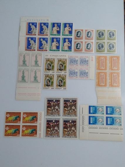 Lote Estampillas Italiana,año 1974 Nuevas