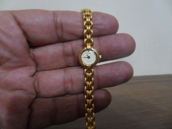 Relógio Technos A Quartz Dourado Caixa 15mm Leia Descrição