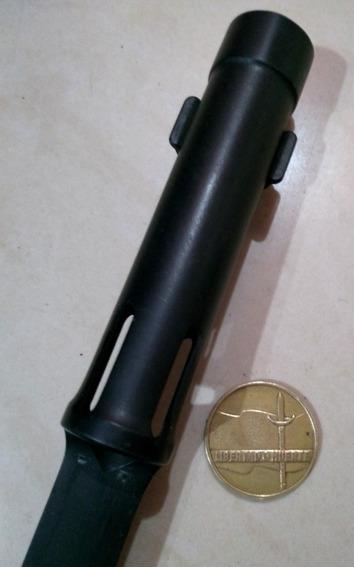 Antigua Bayoneta Tubular De Fal Impecable. Daga Puñal. Sable