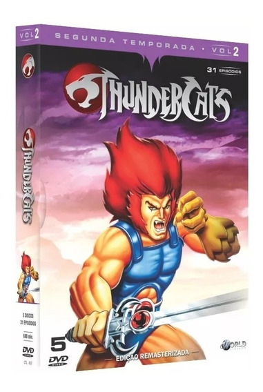 Box Dvd Thundercats - Segunda Temporada - Vol .2