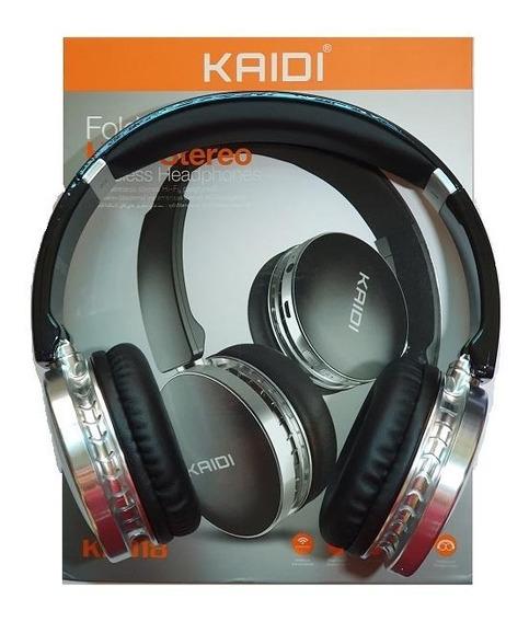 Fone De Ouvido Kaidi Bluetooth Wireless Estéreo Hd Ajustável
