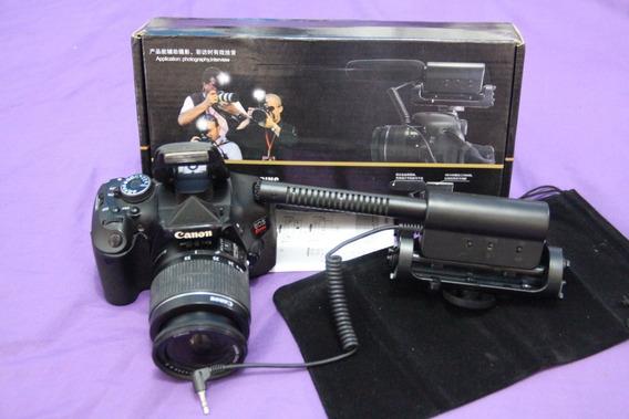 T3i Com Lente 18-55mm + Microfone
