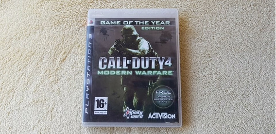 Jogo Call Of Duty 4 Modern Warfare Ps3 Original