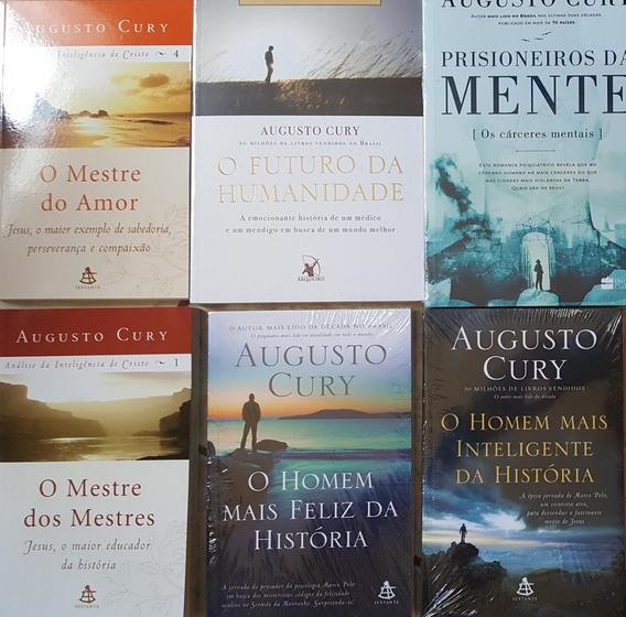 Prisioneiros Da Mente + 5 Livros Augusto Cury + Frete Grátis