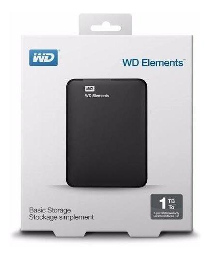 Hd Externo 1tb De Bolso Western Digital Wd Usb 3.0 Usb 2.0