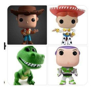 Funkos Toy Story - Stl - Archivo Para Impresion 3d