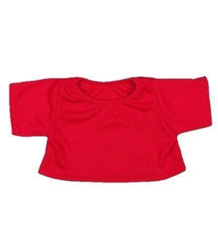 Camiseta Roja De La Técnica De Ropa Del Oso De Peluche Fit 1