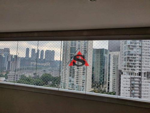 Apartamento Com 3 Dormitórios À Venda, 127 M² Por R$ 1.700.000,00 - Brooklin - São Paulo/sp - Ap41248