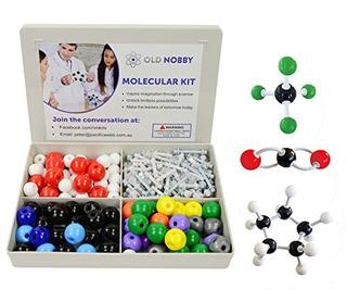 Modelo De Quimica Organica Kit 239 Piezas Modelo Molecular P