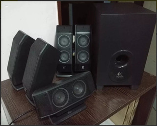 Home Theater 5.1 Para Pc Logitech