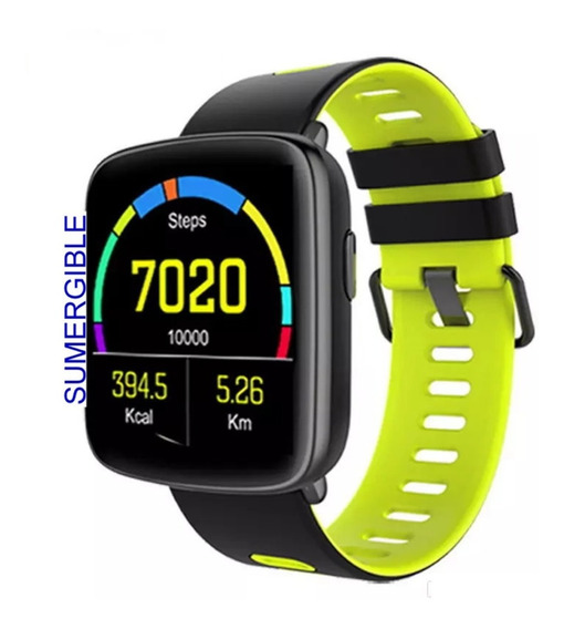Smartwatch Reloj Int Sumergible Bluetooth Apple Android Ios