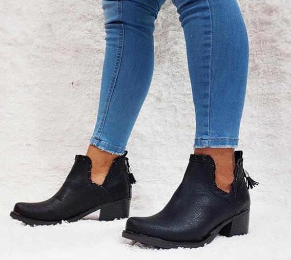 Botas Mujer Texanas Charritos Zapatos Botitas Moda A. 106
