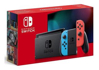 Consola Nintendo Switch Neon Nueva Version + Garantía 1 Año