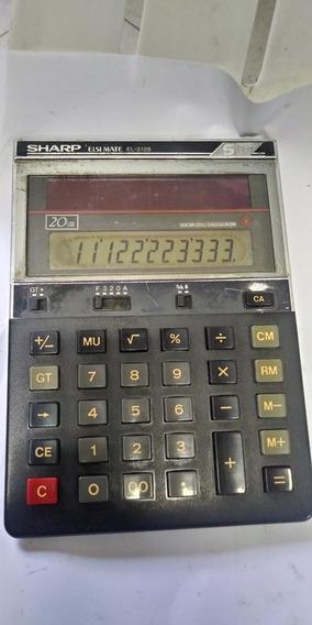 Calculadora Sharp Elsi Mate 2128 Leia A Descrição