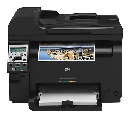 Multifuncional Hp Laser Color M175nw Com 50 Pgs Impressas
