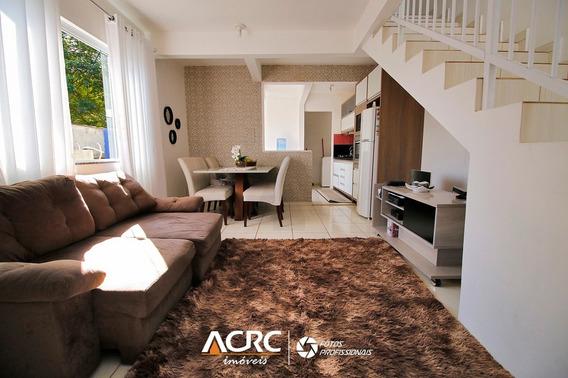 Acrc Imóveis - Sobrado Para Vendas No Bairro Itoupava Central - Ca01085 - 34252412