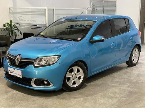 Renault Sandero Privillege Nav 2016 Financio Hasta El 100%