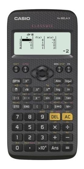Calculadora Eletrônica Científica 275 Função Preto Casio