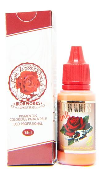 Pigmento Sobrancelha Micro Iron Works Mandarine