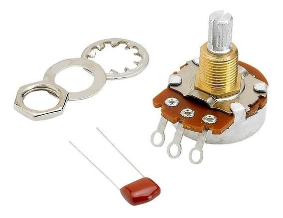 Potenciômetro Fender 500k T/v Split Eixo Dividido - Ac1785