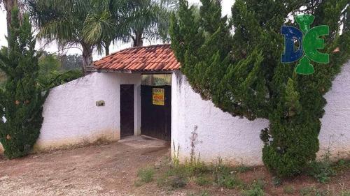 Chácara Com 4 Dormitórios À Venda, 1800 M² Por R$ 1.000.000 - Veraneio Irajá - Jacareí/sp - Ch0036