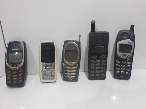 Lote De Celulares Antigo Nokia