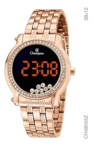 Relógio Champion Digital Feminino Ch48055z Original