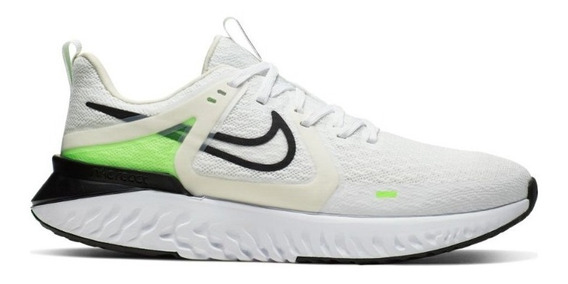 Tenis Nike Legend React 2 Hombre Blanco Correr At1368-101