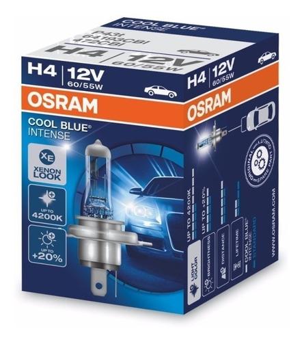 Lampara H4 Para Auto 12v 60/55w Osram Cool Blue Intense