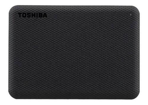 Imagen 1 de 4 de Disco duro externo Toshiba Canvio Advance HDTCA10X 1TB negro