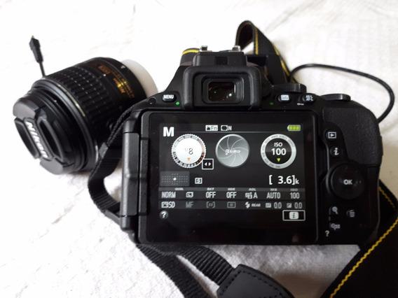 Câmera 2 Mil $$ A Vista Na Retirada Dslr Nikon D5500 Nova Zn
