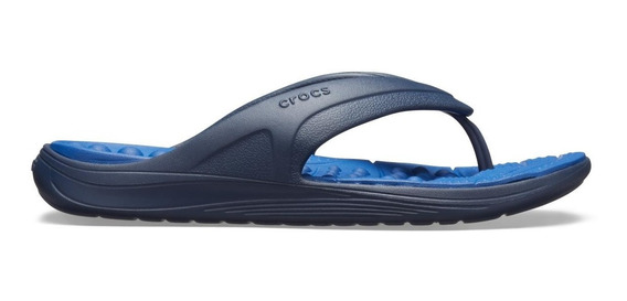 Crocs Reviva Flip - Azul Escuro