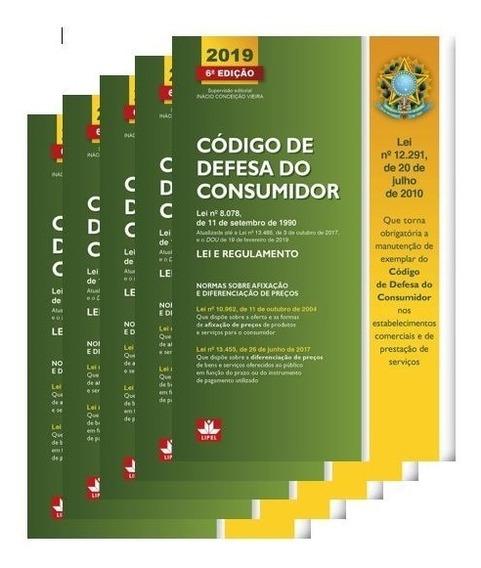 Código De Defesa Do Consumidor Edição 2019 - 5 Unidades
