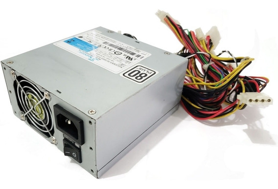 Fonte 300w Seasonic Mini Atx Pfc Ativo 80 Plus Ss-300sfe