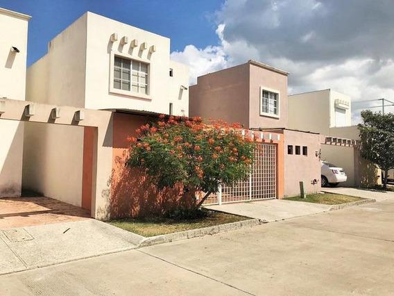 Casa Amueblada En Renta Villas Náutico, Altamira