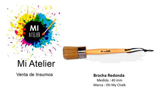 Brocha Grande Oh My Chalk - Mi Atelier